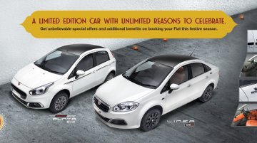 Fiat Punto Karbon, Fiat Linea Royale limited editions unveiled