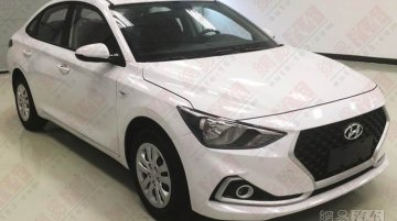 New Hyundai Celesta sedan spied, will sit between Verna and Elantra