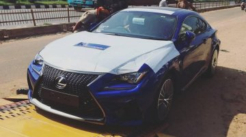 Lexus RC-F spotted in Chennai