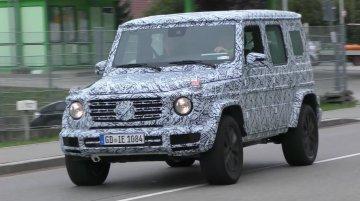 Next gen Mercedes G Class seen rumbling away [Video]