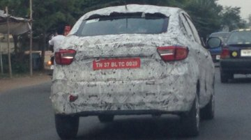 Tata Kite 5 diesel spied with 100,000 km on the odo [Update]