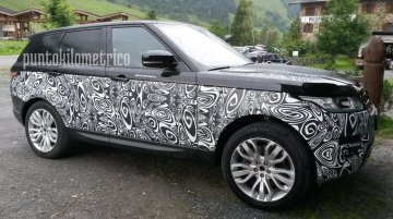 2017 Range Rover Sport (Facelift) spotted up close