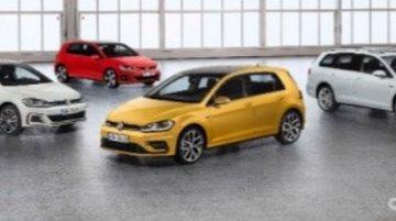 2017 VW Golf (facelift) range official images leaked