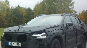 2017 Volvo XC60 spied testing in Germany
