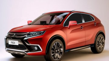 2018 Mitsubishi ASX - Rendering
