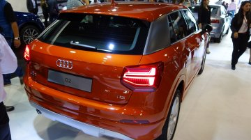 Audi Q2 showcased at the 2016 Bogota Auto Show