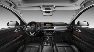 BMW 1 Series Sedan interior officially revealed