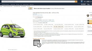 Chevrolet partners with Amazon.in for booking experiential drives online*