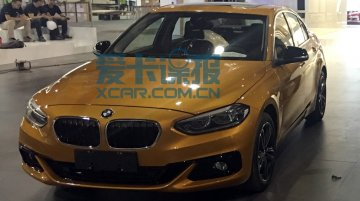 China-made BMW 1 Series sedan photographed from all angles
