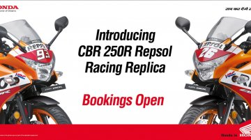 Honda CBR250R Repsol Racing Replica Limited Edition unveiled