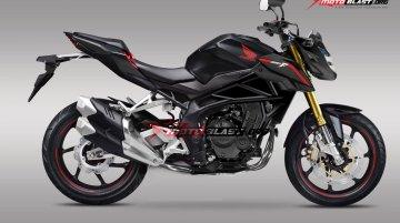 Naked Street Fighter Version of Honda CBR250RR Rendered