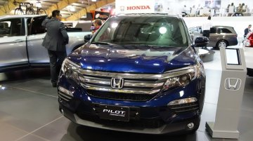 Honda Pilot & Honda Ridgeline displayed at 2016 Bogota Auto Show