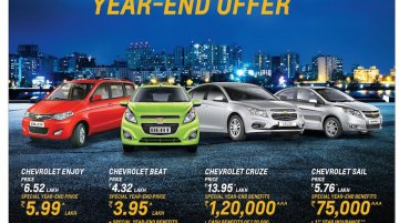 Chevrolet India's year-end campaign goes live today*