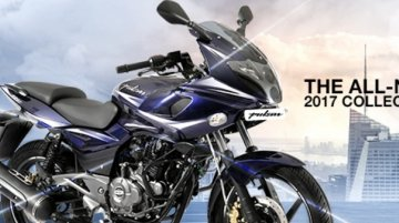 2017 Bajaj Pulsar 220F launched at INR 91,201