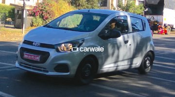 2017 Chevrolet Beat spied undisguised, launches early next year