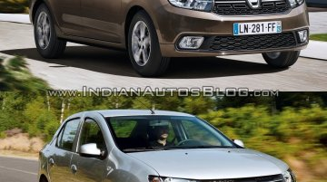 2017 Dacia Logan sedan vs. 2012 Dacia Logan sedan - Old vs. New