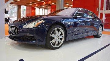 2017 Maserati Quattroporte - Bologna Motor Show Live