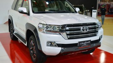2017 Toyota Land Cruiser TRD showcased at Oman Motor Show