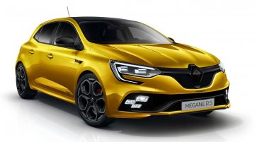 2018 Renault Megane RS imagined - Rendering
