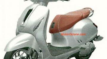 Bajaj Chetak patent image of parts revealed - Report