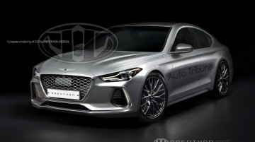 Genesis G70 (BMW 3 Series rival) rendered based on spy images