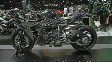 Kawasaki supercharged sports tourer teased; to debut on November 7