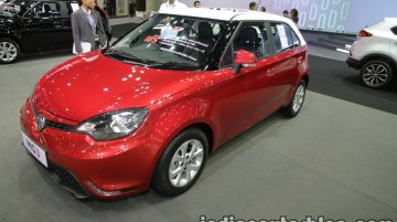 MG 3 two-tone - Thai Motor Expo Live