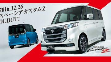 Suzuki Spacia Custom Z introduced in Japan