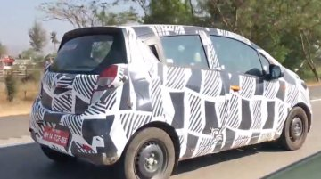 2017 Chevrolet Beat spied testing on Mumbai-Pune Expressway [Video]