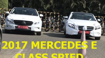 2017 Mercedes E-Class LWB (V213) spied in India [Video]
