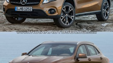 2017 Mercedes GLA vs. 2014 Mercedes GLA - Old vs. New