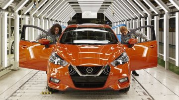 2017 Nissan Micra production commences in Europe