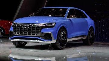 Audi Q8 concept debuts at the 2017 Detroit Motor Show