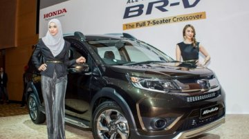 Honda BR-V launched in Malaysia, priced from RM85,800