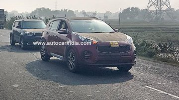 Kia Sportage & Kia Soul spied on Indian roads, but are they test vehicles?