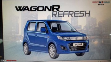 2017 Maruti Wagon R Refresh priced at INR 4.14 Lakhs