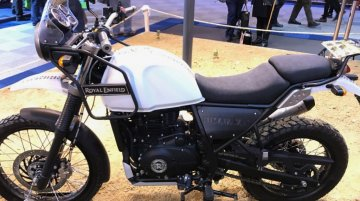 Euro 4 compliant Royal Enfield Himalayan ABS launched - UK