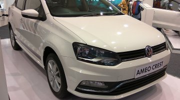 VW Ameo Crest showcased at APS 2017
