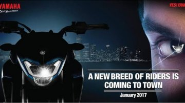 Yamaha starts teasing an upcoming street naked motorcycle