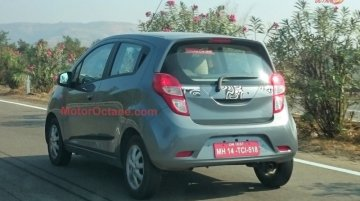 2017 Chevrolet Beat interior & exterior completely revealed in spy shots