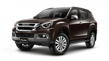 2018 Isuzu MU-X (facelift) to launch on 16 October
