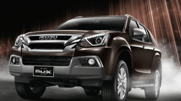 New Isuzu MU-X (facelift) to employ D-Max's BS6-ready 1.9L diesel in India - Report