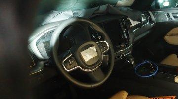 Interior of the 2017 Volvo XC60 exposed