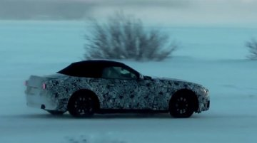 Next-gen Toyota Supra and BMW Z4 spied testing - Video