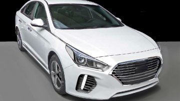 2018 Hyundai Sonata (facelift) exterior rendered
