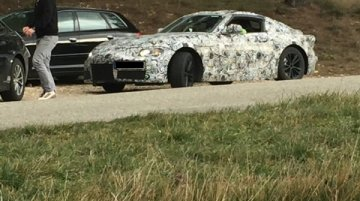 Next-gen Toyota Supra spied up close in France