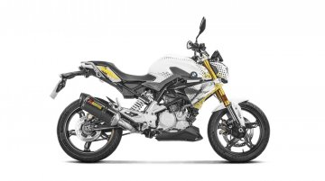 BMW G 310R gets new optional exhaust system by Akrapovic