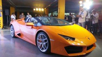 Lamborghini Huracan LP580-2 (RWD) Spyder launched at INR 3.45 crore