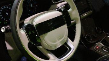 Range Rover Velar interior exposed ahead of its Geneva Show debut