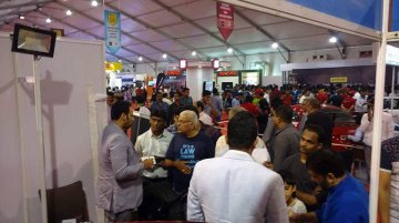 TYRE PROTECTOR gets excellent response from Mumbai at APS 2017